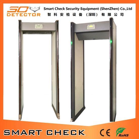 China Best Seller33 Zones Walk Through Door Frame Archway Metal ...
