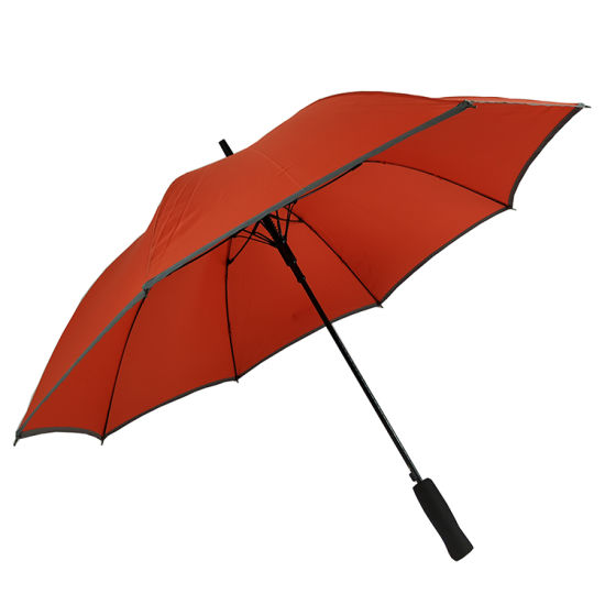 46''arc Straight Umbrella Promotional Umbrella