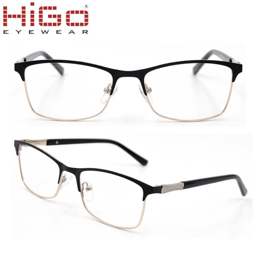7bc823184dbe New Style Factory Directly Sale Stainless Fancy Spectacle Eyeglasses Frame  in Stock