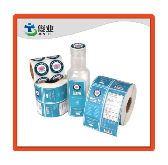 Elegant High Adhesive Bottle Sticker/Customized Printing Label