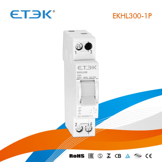 Ekhl300 1-0-2 1p 32A Modular Changeover Switch