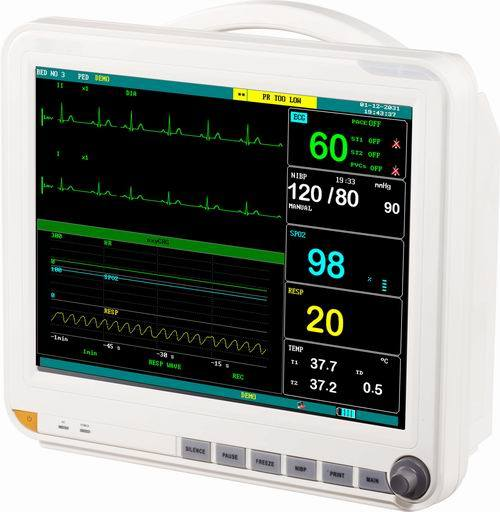 (MS-8500) Factory Price Multi-Parameter ECG Medical Equipment Patient Monitor