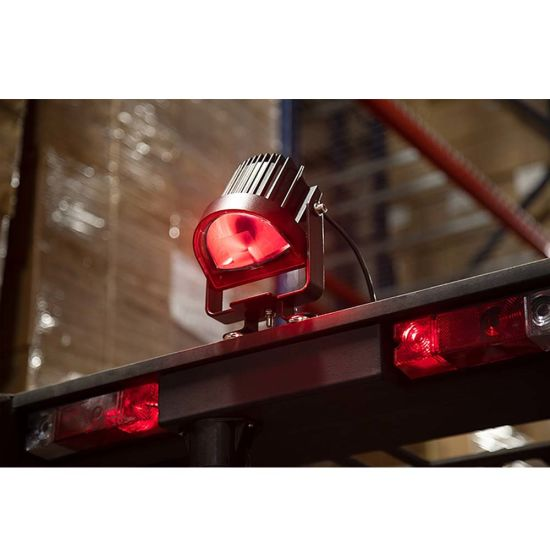Forklift Safety Parts 10-80V DC Red/Green/Blue Wide Arc Beam LED Forklift Safety Lights pictures & photos