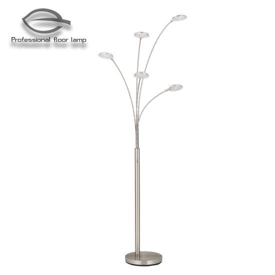 Five Iron Arm Decoration LED Floor Lamp Lighting/Light/LED/Lamp