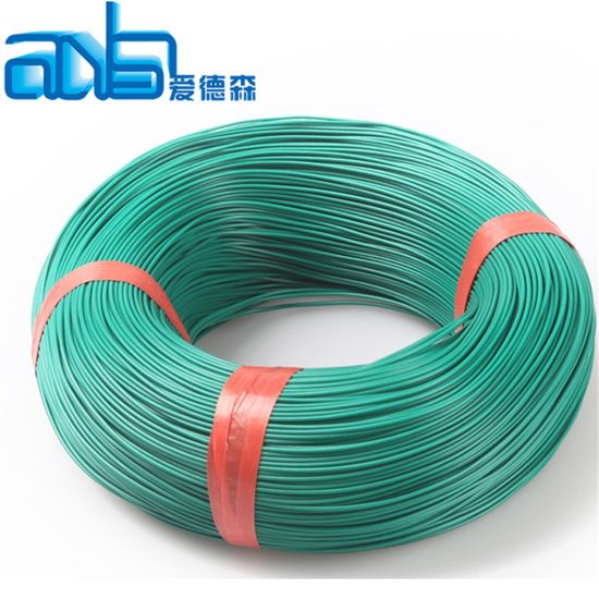 Blue//White 22 AWG Hookup Wire UL1015  5000/' RoHS Comp