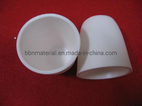 Heat Resistant Al203 Alumina Ceramic Arc Crucible Cup