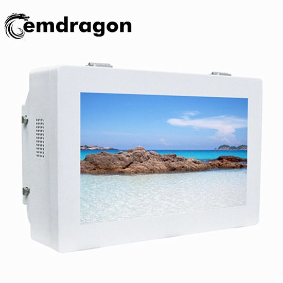 Wall Mount LCD Advertising 32 Inch Outdoor Wall Mount Advertising Machine Charger Station for Restaurant Network WiFi LCD Monitor LED Digital Signage