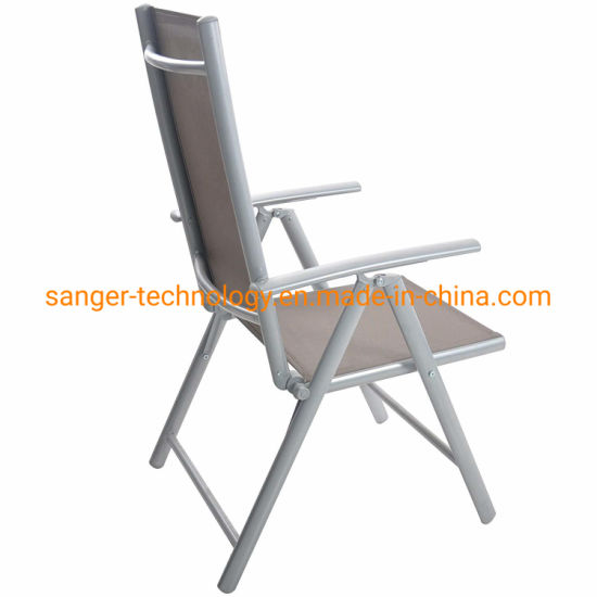 Phenomenal China Folding Sling Chair Patio Adjustable Reclining Back Gmtry Best Dining Table And Chair Ideas Images Gmtryco
