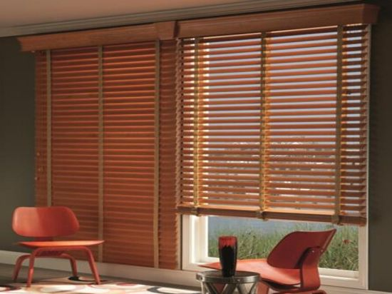 China Fsc Venetian Blinds 50mm Pvc Blinds Solid Wood Blinds China