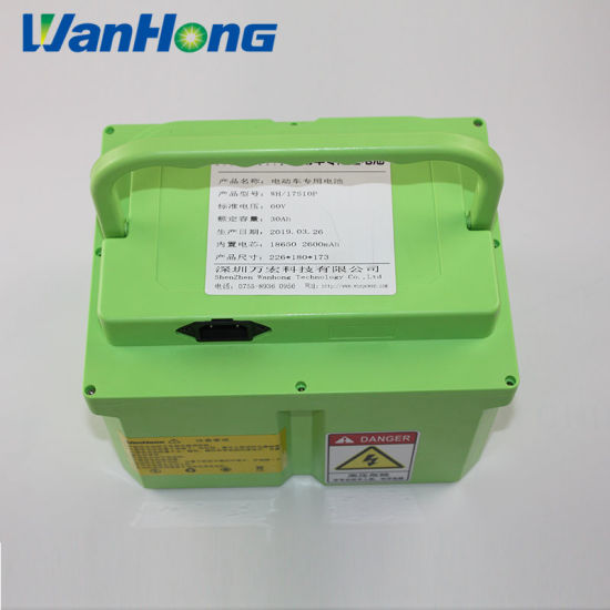 60V 30ah E Bike Battery/Lithium Battery/LiFePO4 Battery/Lithium Ion Battery/Deep Cycle Battery/Electric Bicycle Battery/Battery Pack
