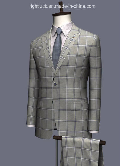Top Quality Fashion Slim Fit Tr Fabric Classic Style Men`S Formal Suits Business Suits Workwear