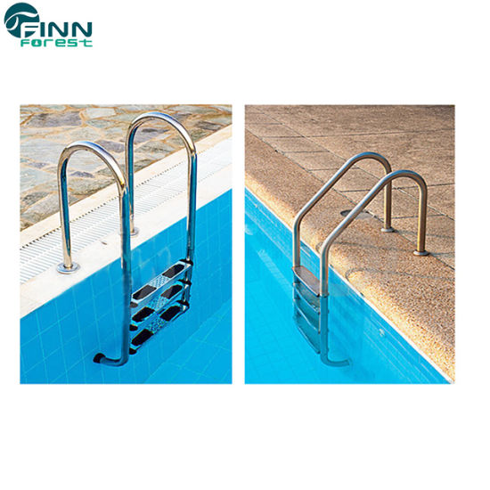 Manufacture Guangzhou Above Ground Swimming Pool Stainless Steel Ladders
