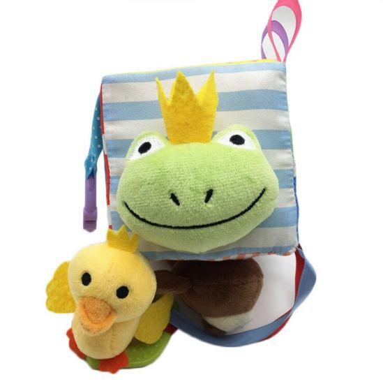 2019 Hot Sale Baby Sensory Development Toys Infant Soft Activity Cube Toy