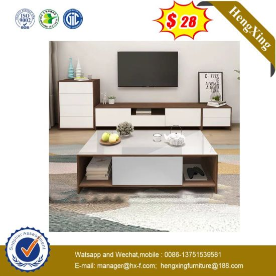 New Model Simple TV Stand Wood MFC TV Cabinet (UL-9BE649)