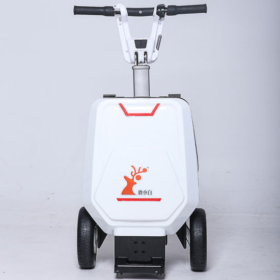 Automatically Open and Close Mobility Electric Scooter Three Wheel Deerdeer Scooter Foldable Scooter Luggage Scooter