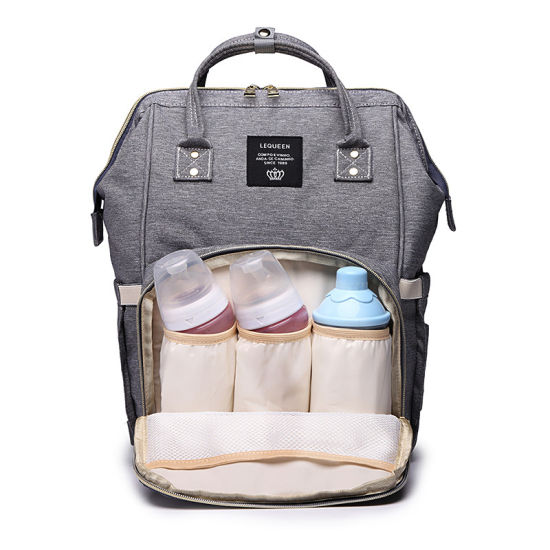 Mummy Bags Multi-Functional Backpack Baby Tote Fashion Backpack Baby Bottle Diaper Bag for Mom