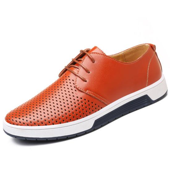 Men's Shoes Men's Hollow Sandals Cross-Border Explosive Hollow Shoes Breathable Leisure Shoes