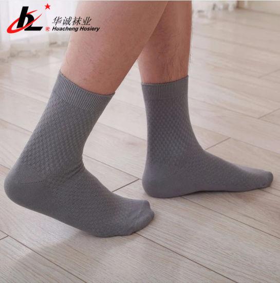 Quality Bamboo Fiber Men's Socks Thin Design