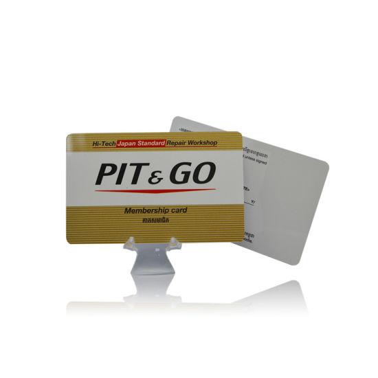 RFID UHF+MIFARE Dual Frequency Prepaid Membership Card
