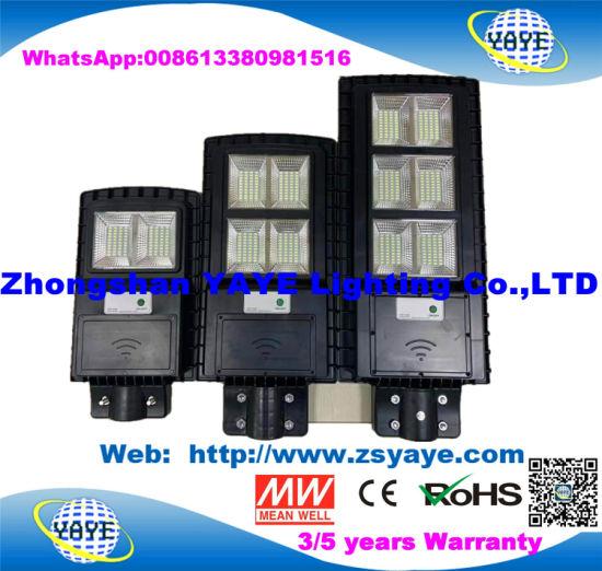 Yaye 18 Good Price 2020 Best Sell Type IP67 Waterproof All in One 30W/60W/90W Solar Street Light Lamp with Motion Sensor & Human Sensor
