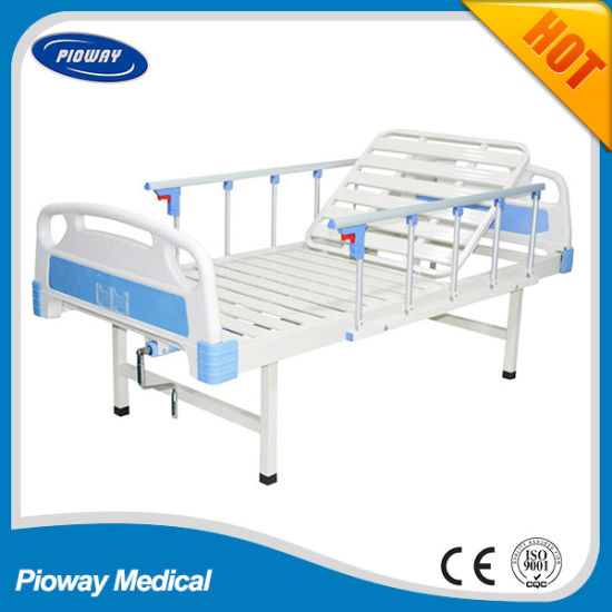 Pioway ABS Manual One Crank, Cheap Hospital Patient Bed Pw-C01