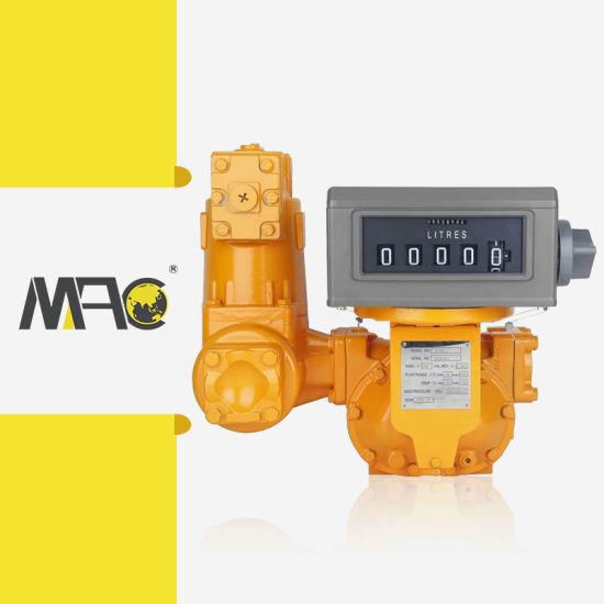 Macsensor Factory Price Mechanical Positive Displacement Pd Fuel Flow Meter