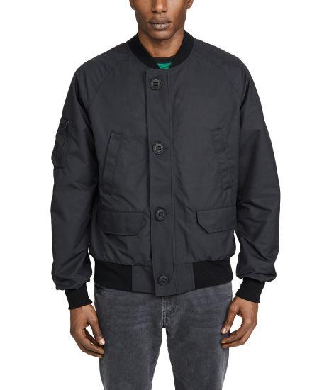 Wholesale Custom Waterproof Soft Shell Polyester Fiber Filled Jacket Mens Windbreaker Mens Bomber Jacket