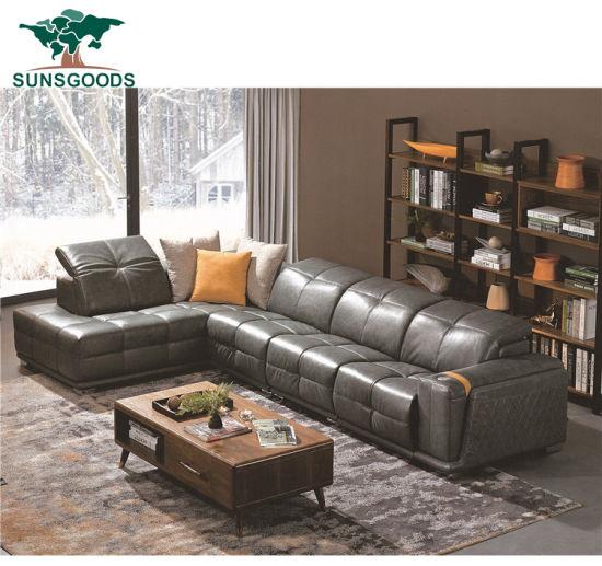 Free Style Sofa Recliner Massage Leather Sofa Set