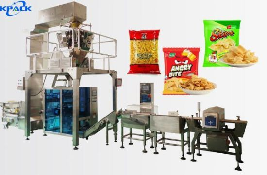 Wholesale Snack Food Automatic Weighing Vffs Bag Packaging Machine