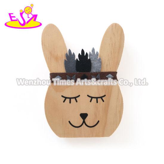 Best Design Lovely Bear Natural Wood Crafts for Kids W02A360