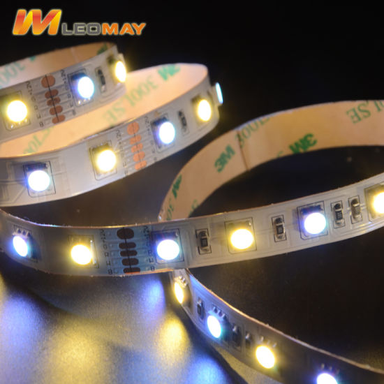 Factory prices 5050 60LEDs,12V RGBW LED strip.