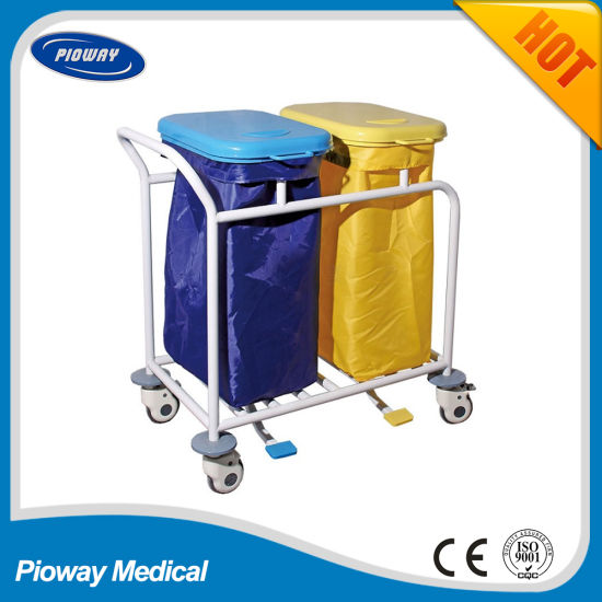 Medical Dirty Linen Trolley (PW-711)