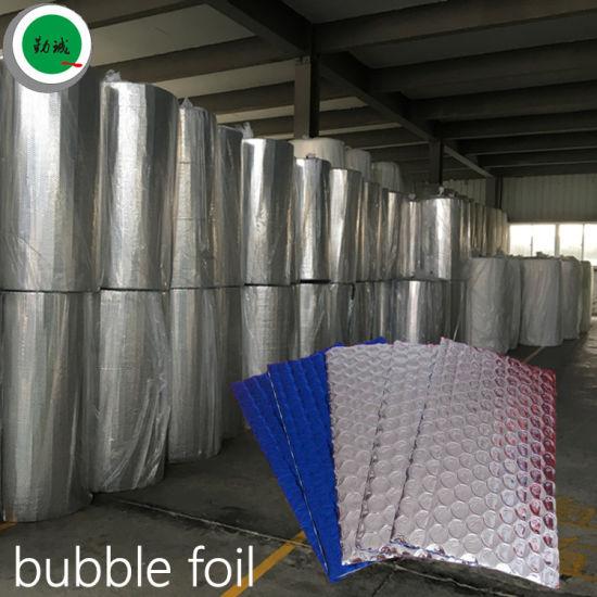 Heat Resistant Insulation Aluminum Double Bubble Foil Roof Insulation Roofing Underlayment