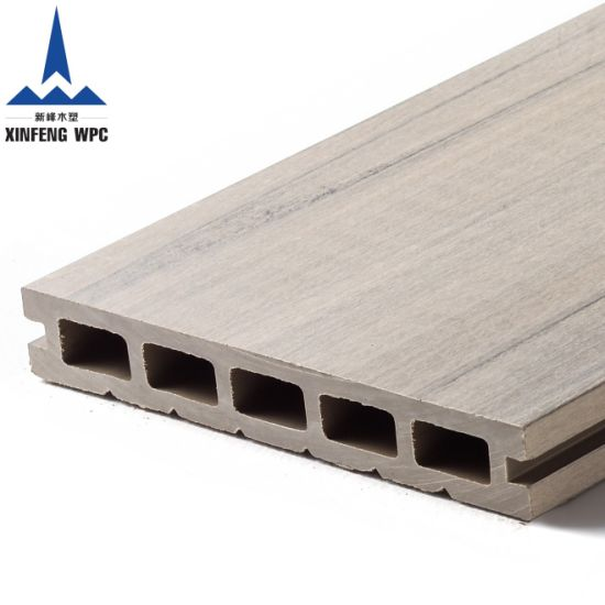 Anti-UV Wood Plastic Composite Timber WPC Decking Board