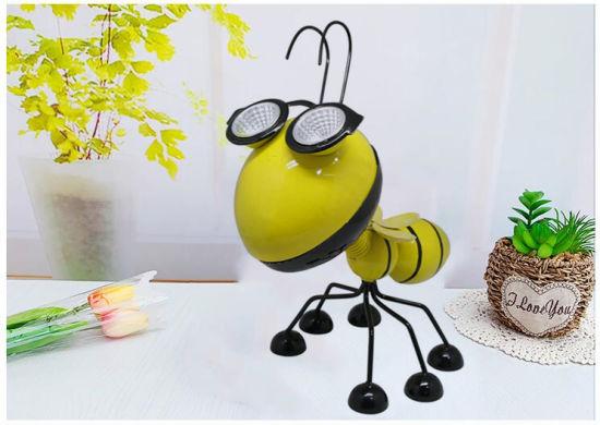 High Quality Solar Mini Hornet Lamp with Garden Lighting Decoration
