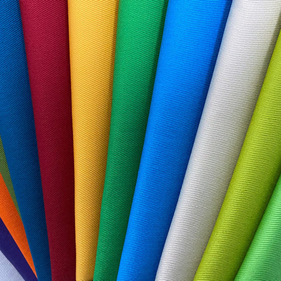 T/C Fabric 190GSM 3/1 Twill OEM Accepted Multi-Color Options