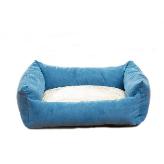 Anti-Slip 100% PP Cotton Suede Cloth Pet Dog Cat Bed Sofa