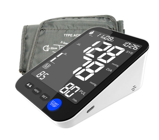 Digital Household Arm Sphygmomanometer with Large LCD Display