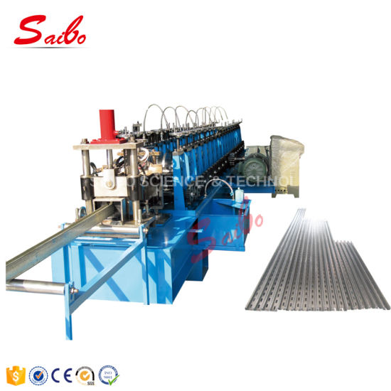 Double Rows Guide Rail Roll Forming Machine