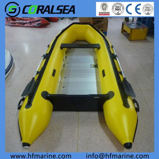 China 3 2m PVC/Hypalon/Rubber/Csm Fabric Rafting/Fishing