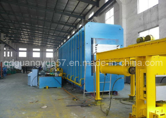 Xlb-1400*5700*2 Conveyor Belt Curing Press Machine