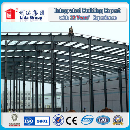 Prefabricated Steel Structure Frame Building Warehouse pictures & photos