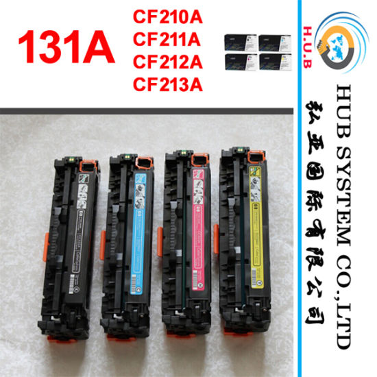 OEM Color Cartridge for HP 131A (CF210A; CF211A; CF212A; CF213A) pictures & photos