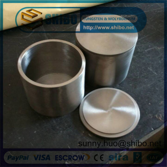High Density Molybdenum (moly) Crucible with Lip pictures & photos