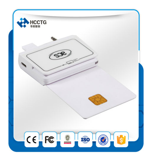 Magnetic Card Reader IC Chip Smart Card Reader Mobile Card Reader Mpos--ACR32 pictures & photos