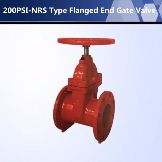 High Quality UL Listed 200 Psi -OS&Y Type Flanged End Gate Valve pictures & photos