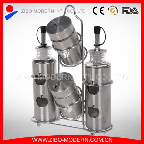 China Gl Bottle For Oil Vinegar Salt