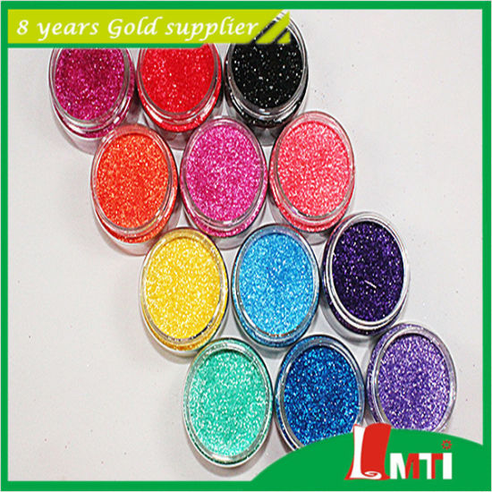 Ultra Fine Holographic Laser Glitter Powder for Decoration pictures & photos
