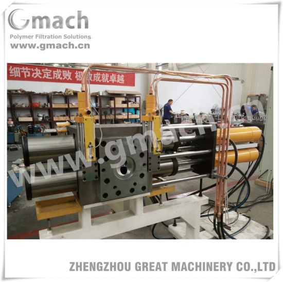 Automatic Self Cleaning Back Flush Screen Changer for Plastic Recycling Granulation Extrusion Machine pictures & photos