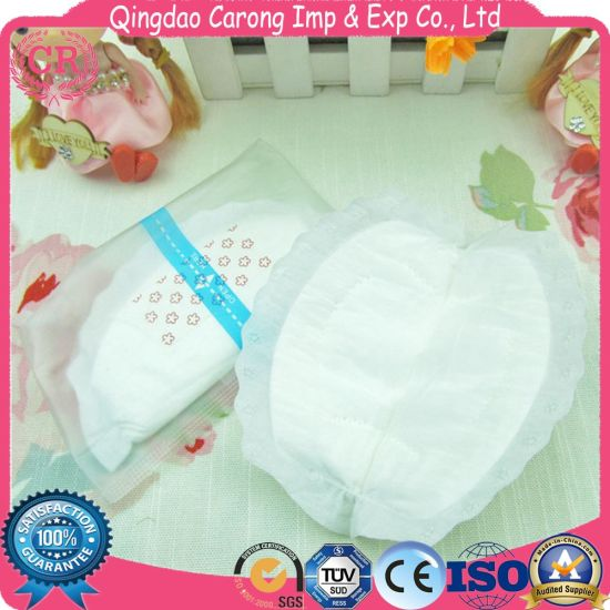 Good Absorptive Disposable Woman Breast Pad pictures & photos
